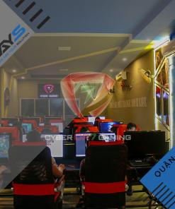Cyber CR7 Gaming - Dự án lắp đặt phòng Net tại Quận 9   Ways.vn
