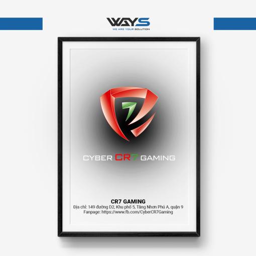 Cyber CR7 Gaming - Dự án lắp đặt phòng Net tại Quận 9 | Ways.vn