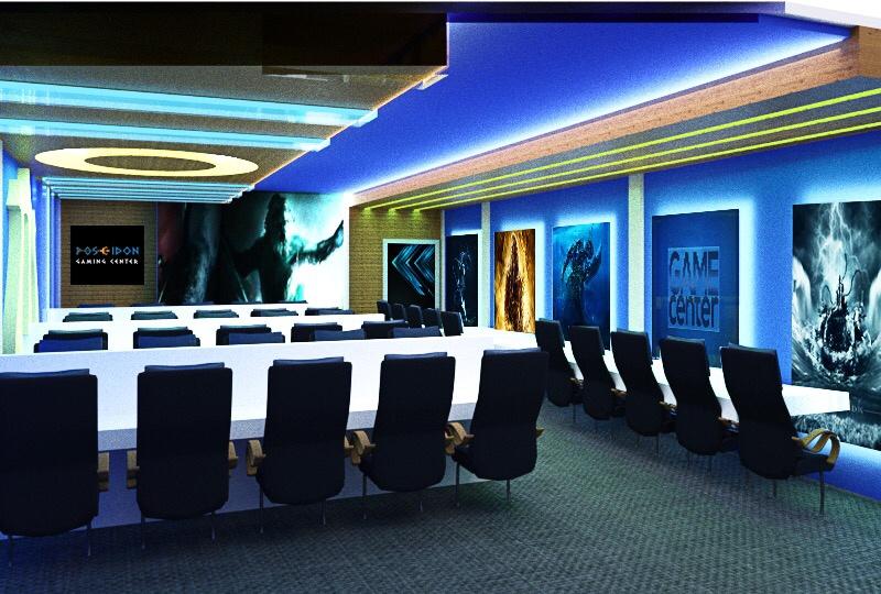 Poseidon Gaming - Phòng Net Poseidon