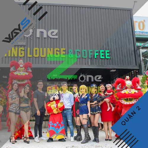Zone Gaming Lounge - Dự án lắp đặt phòng Net tại Quận 2 | Ways.vn