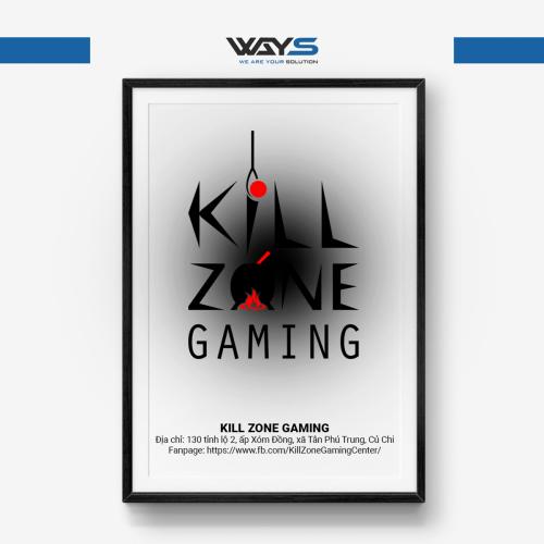 Kill Zone Gaming - Dự án lắp đặt phòng Net tại Củ Chi | Ways.vn