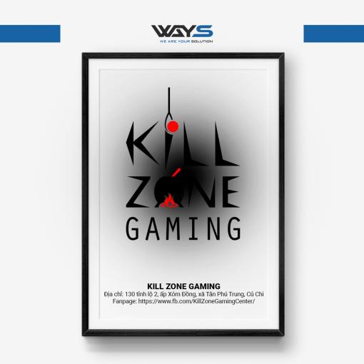 Kill Zone Gaming - Dự án lắp đặt phòng Net tại Củ Chi   Ways.vn