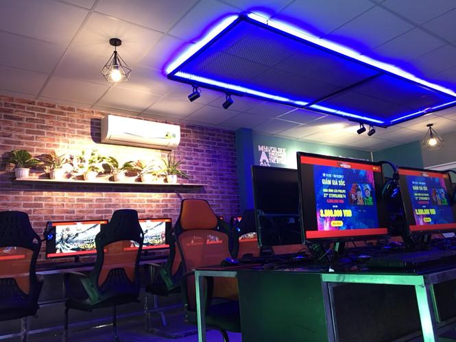 Balu Gaming - Phòng máy với thiết kế hiện đại tại miền Tây