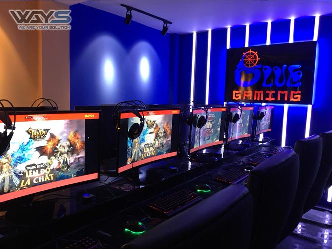 BLUE Gaming - Thêm một không gian đặc sắc cho game thủ Biên Hòa