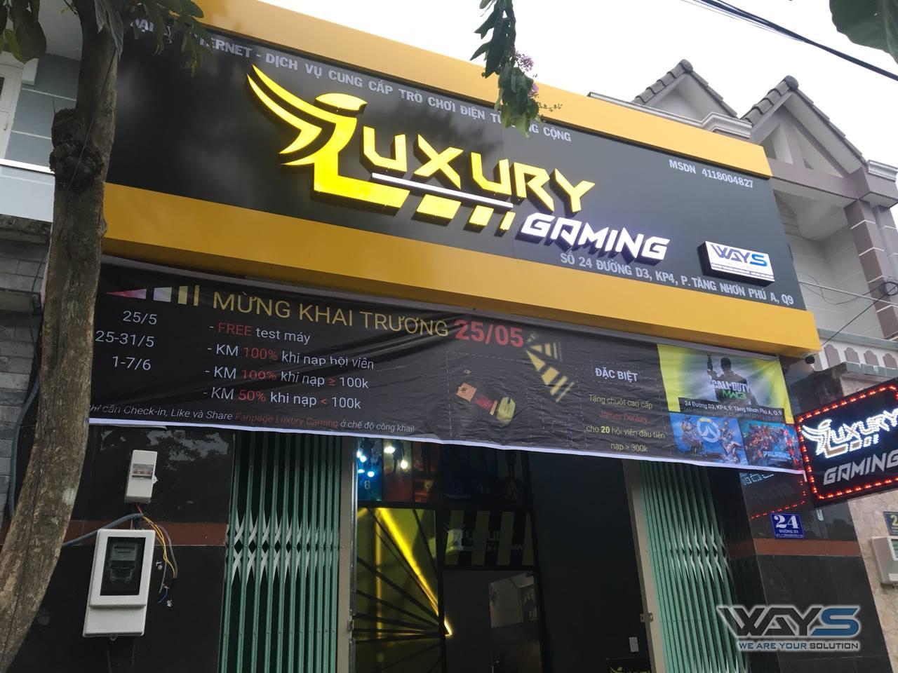 LUXURY GAMING - PHÒNG NET QUẬN 9, HỒ CHÍ MINH