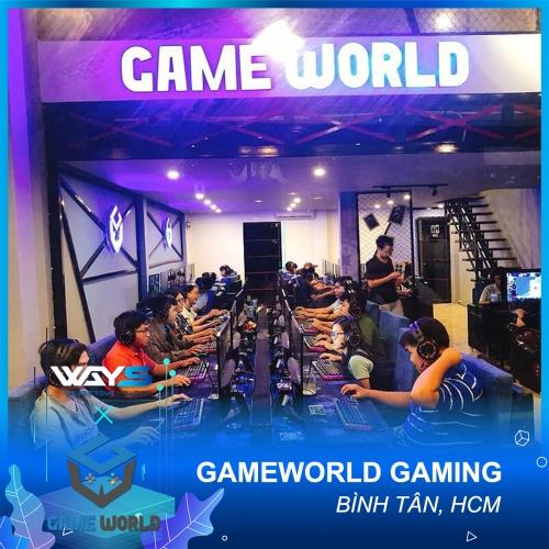 GAMEWORLD GAMING - PHÒNG NET PHƯỜNG BÌNH TRỊ ĐÔNG, QUẬN BÌNH TÂN, TP. HỒ CHÍ MINH