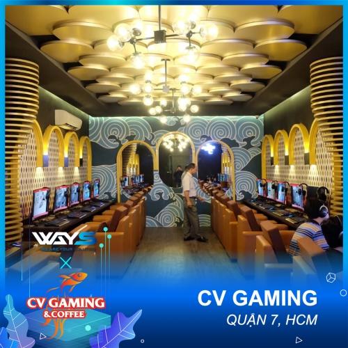 CV GAMING - PHÒNG NET PHƯỜNG TÂN HƯNG, QUẬN 7, TP. HCM