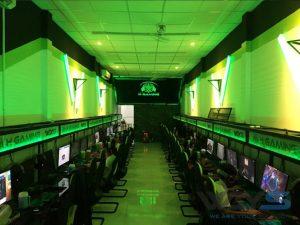 H Gaming: Phòng máy nổi bật với hình tượng rắn ba đầu Hydra