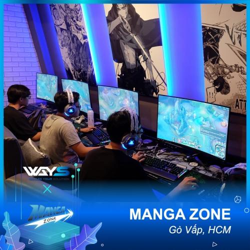 MANGA ZONE GAMING | PHÒNG GAME QUẬN GÒ VẤP, TP. HỒ CHÍ MINH