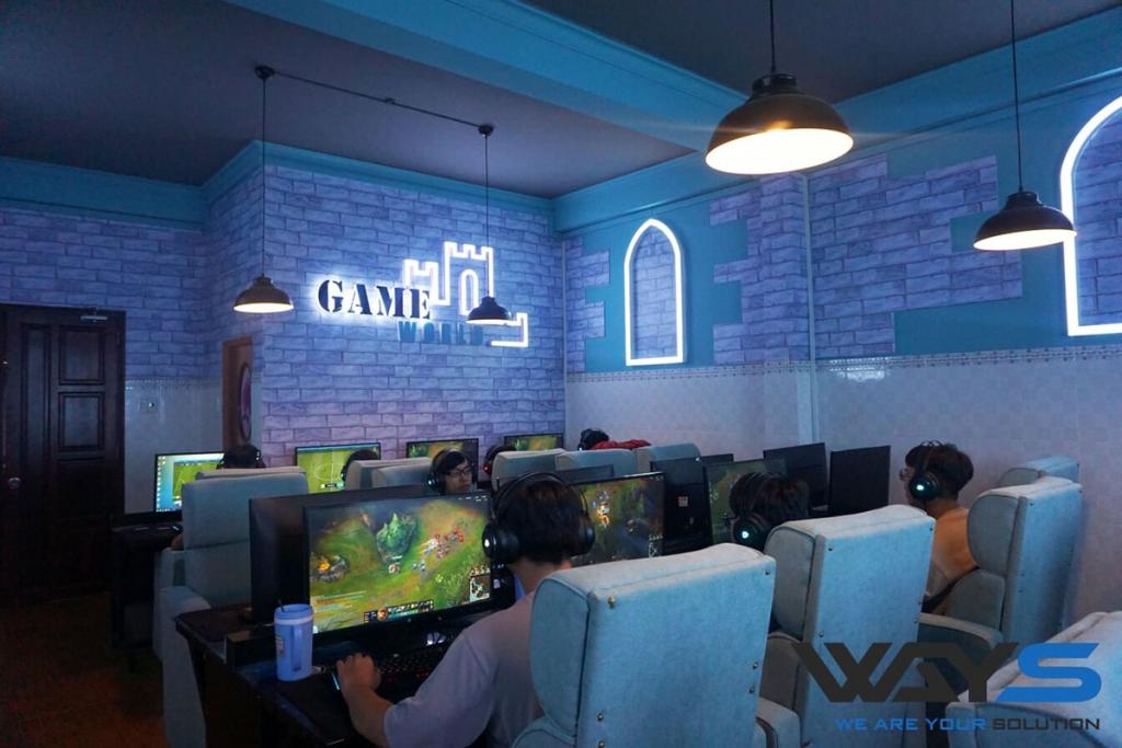 GAMEWORLD (NÂNG CẤP) | PHÒNG GAME QUẬN BÌNH TÂN, TP. HỒ CHÍ MINH
