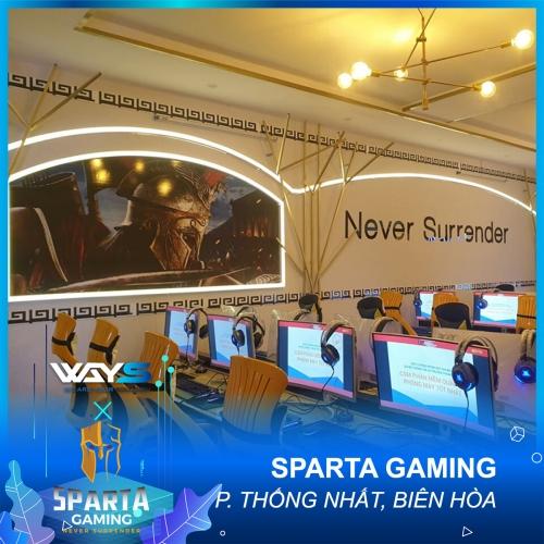SPARTA GAMING | PHÒNG NET PHƯỜNG THỐNG NHẤT, TP. BIÊN HÒA