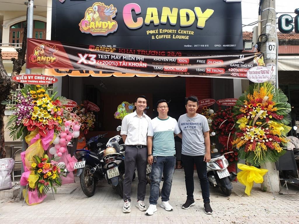 CANDY GAMING   PHÒNG NET PHƯỜNG PHÚ CƯỜNG, TP. THỦ DẦU MỘT