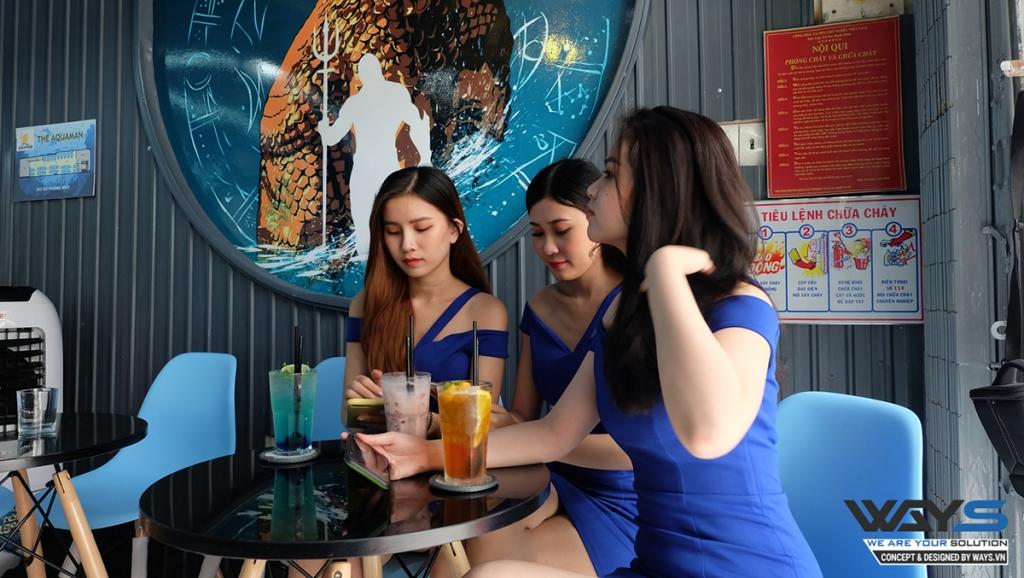 THE AQUAMAN GAMING | PHÒNG NET QUẬN TÂN PHÚ, TP. HỒ CHÍ MINH