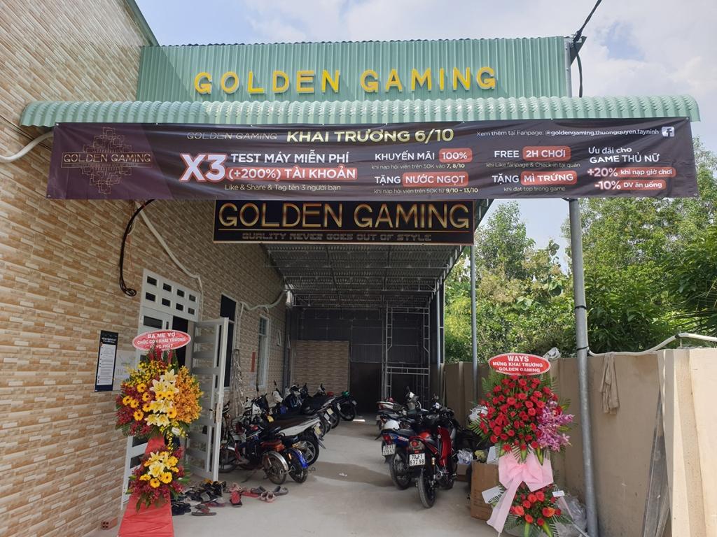 GOLDEN GAMING | PHÒNG NET THỊ TRẤN GÒ DẦU, TÂY NINH