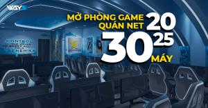 MỞ PHÒNG GAME NET 20, 25, 30 MÁY CÓ ĐANG LÀ MÔ HÌNH TIÊU CHUẨN 2020?