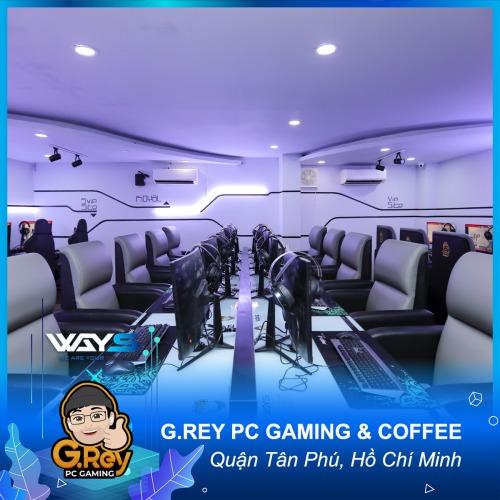 G.REY PC GAMING & COFFEE | PHÒNG NET QUẬN TÂN PHÚ, HỒ CHÍ MINH