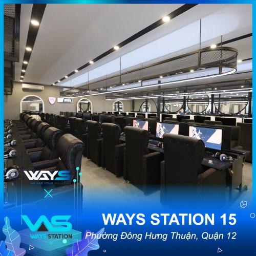 WAYS STATION 15 | PHÒNG NET PHƯỜNG ĐÔNG HƯNG THUẬN, QUẬN 12