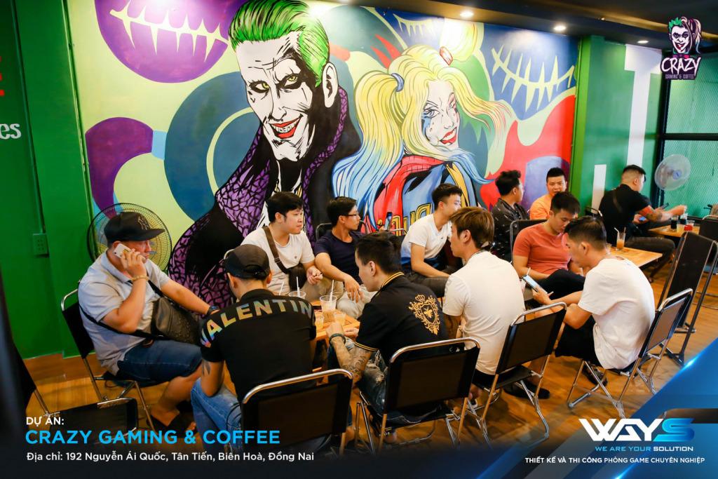CRAZY GAMING & COFFEE | PHÒNG NET PHƯỜNG TÂN TIẾN, THÀNH PHỐ BIÊN HÒA
